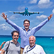 Caribbean landings are an AvGeek's paradise