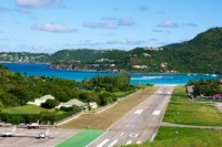 private jet charter and helicopter flights from St Barts Airport