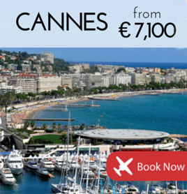 Fly to Cannes from £5,600