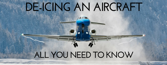 De-icing an aircraft: all you need to know
