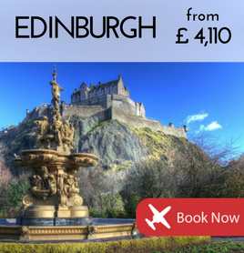 Fly to Edinburgh from £4,110
