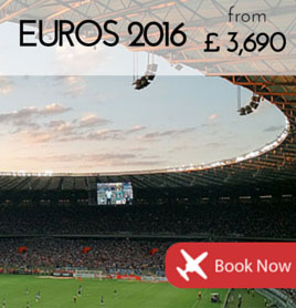 Fly to the Euros from €3,690