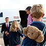 Family private jet flights