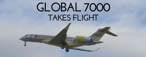 The Global 7000 Takes Flight