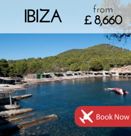 Fly to Ibiza from £8 660