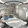 The Ultimate private jet interiors