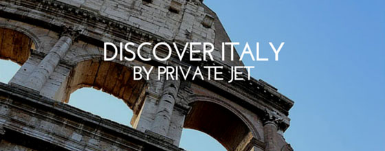 Italy by private jet