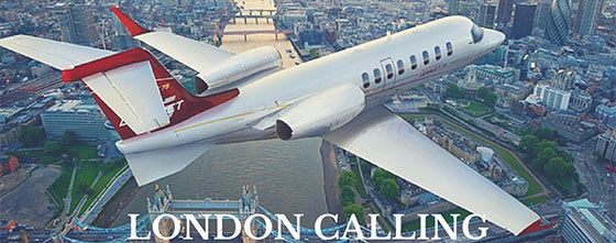 London reigns as Europe's private jet capital
