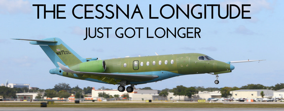 The Cessna Longitude just got longer