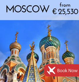 Fly to Moscow from €25 530