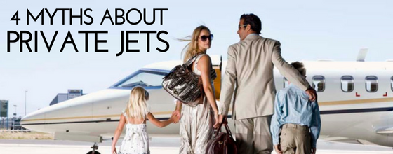 4 Myths about private jet travel