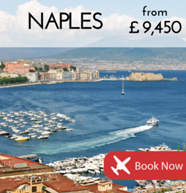 Fly to Naples from £9 450