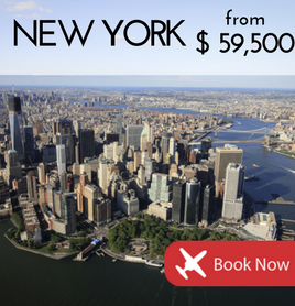 Fly to New York City from £3,700