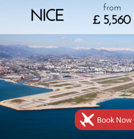 Fly to Nice from £5 560