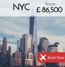 Fly to New York City Côte d'Azur from £86 500