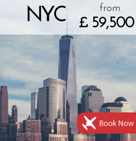 Fly to New York City from £59 500