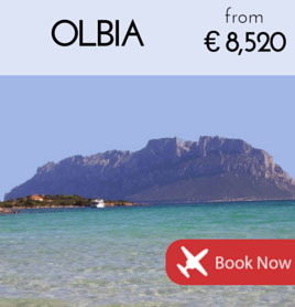 Fly to Olbia from €8 520