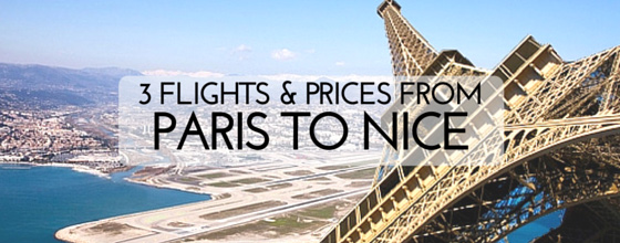 3 flights with prices