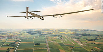 The world solar flight