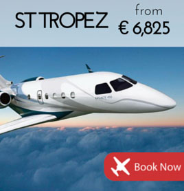 Fly to St Tropez from €6 825
