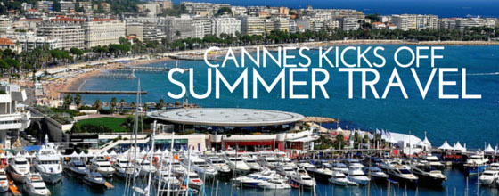 Summer travel to Cannes