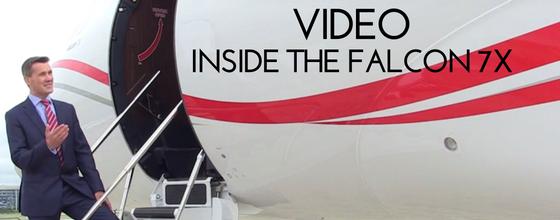VIDEO: INSIDE THE FALCON 7X