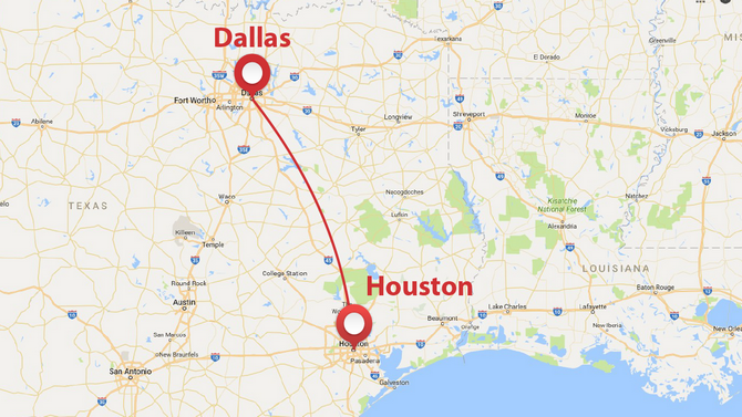 Private Plane Shuttle Between Dallas And Houston Privatefly