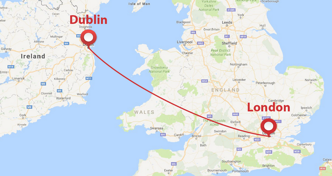 Private Jet From London To Dublin Privatefly