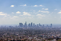 Los Angeles by private jet