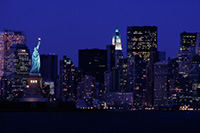 New York City by private jet