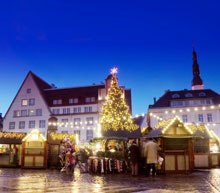 european christmas market flights