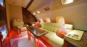 Business aviation flights for the music & entertainment sector