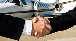 Business aviation flights for travel & tour operators