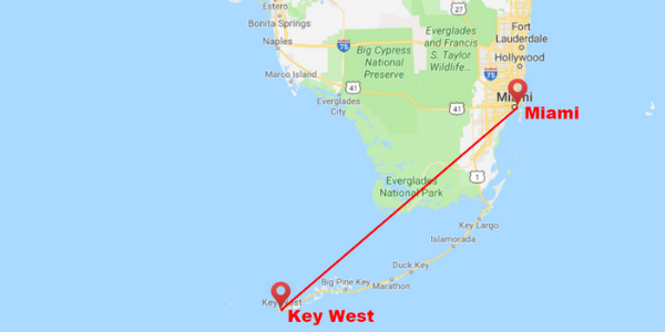 miami to key west shuttle