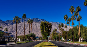 New York to Palm Springs