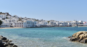 London to Mykonos