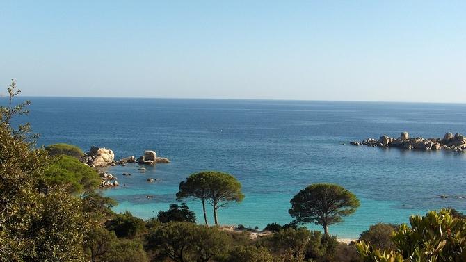 La Corse en jet privé