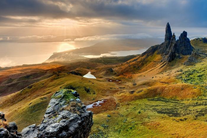 louer un jet privé pour l'Écosse