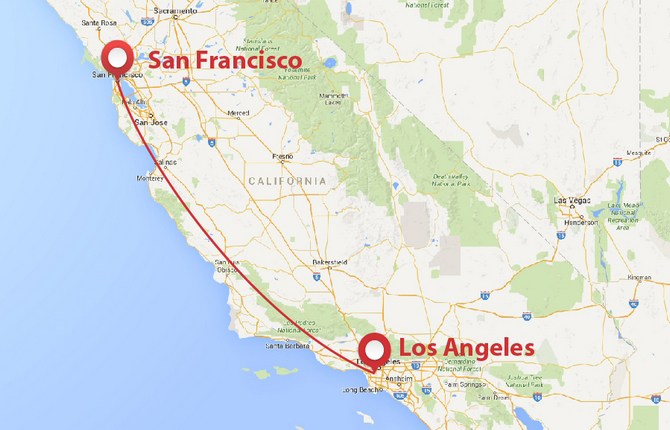 One way car rental san francisco to lax 17