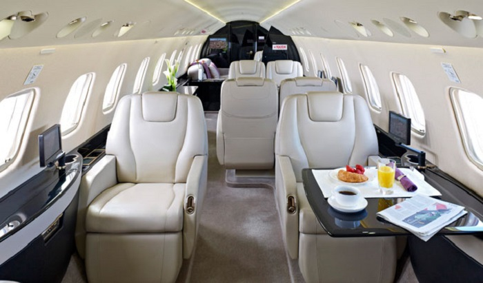 Legacy 600 private jet to Ibiza