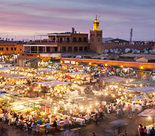 Private jet from Paris to Marrakesh