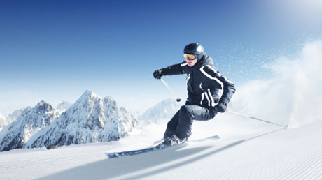 Europe's top ski resorts by private jet and helicopter
