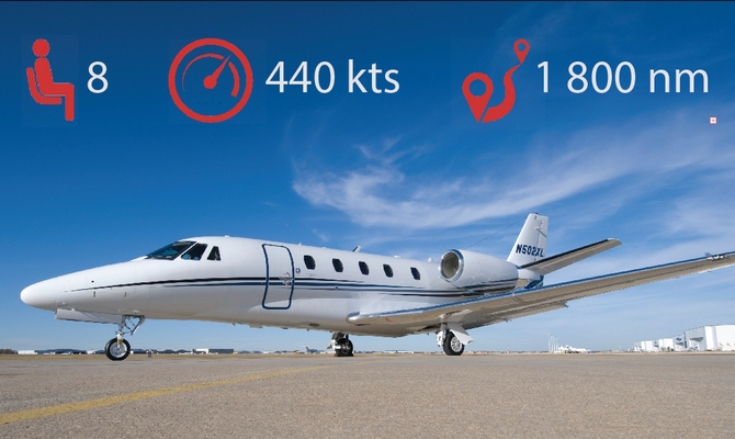 Citation Xl Citation Xls Private Jet Charter